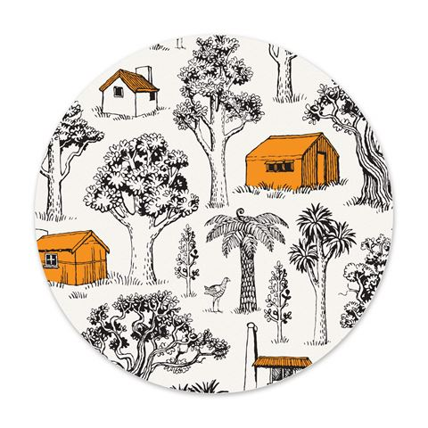 NZ Tramping Huts Reusable Dish Cloth