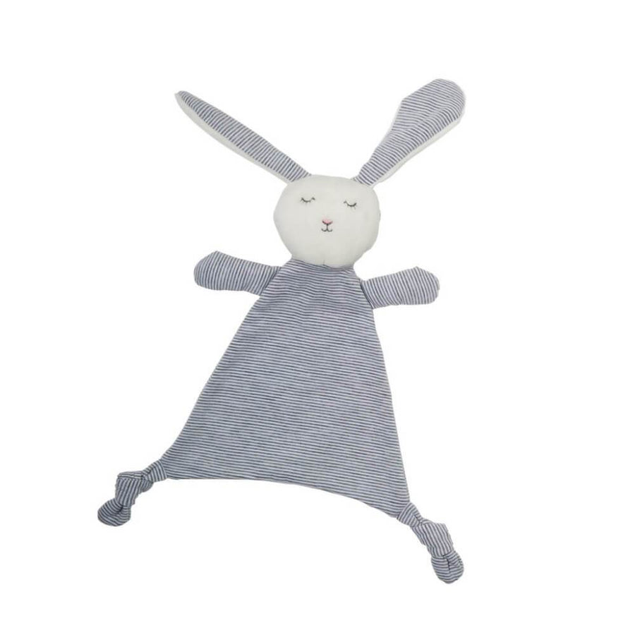 Grey Striped Bunny Comforter
