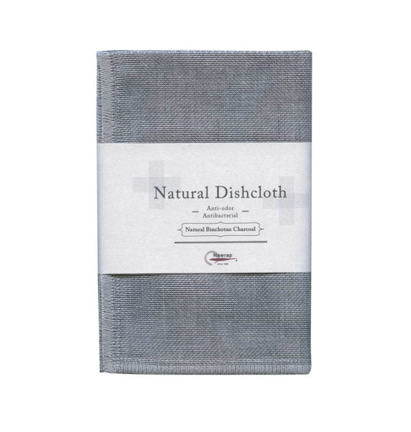 Natural Antibacterial Binchotan Charcoal Dishcloth