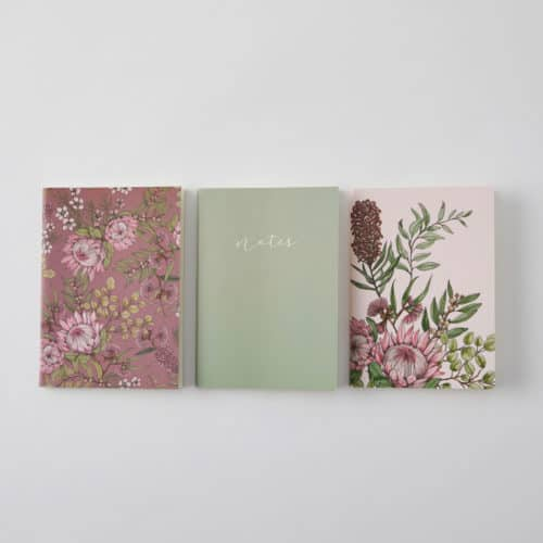 Floral Pocket Notebooks (3 pk)