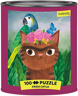 Frida Catlo (Puzzle in a Tin)