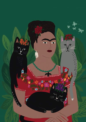Frida and Cats