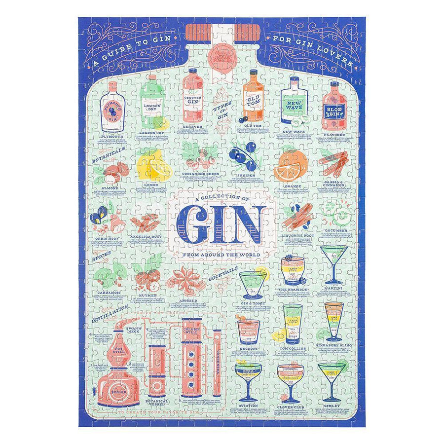 Gin Puzzle - 500 pieces