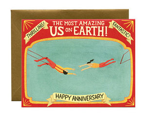 The Most Amazing Us On Earth!  Happy Anniversary.