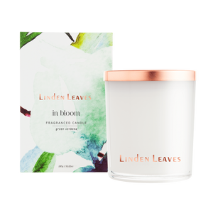 Linden Leaves In Bloom Candles