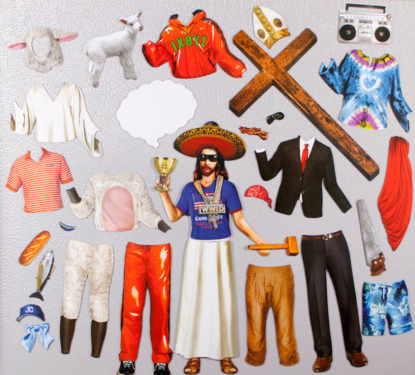 'What would Jesus Wear' Magnetic Dress Up Set