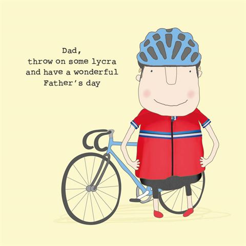 Dad, Throw On Some Lycra