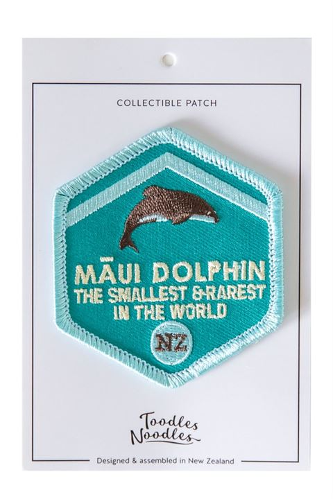 Maui Dolphin Patch