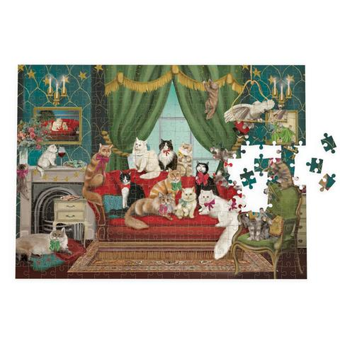 Posh Cats Puzzle (1000 pieces)