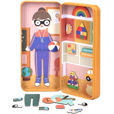 Magnetic Puzzle Box: Preschool Teacher