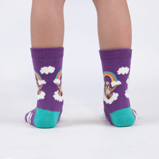 Sloth Dreams Junior Crew Socks