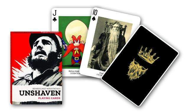 Unshaven Playing Cards