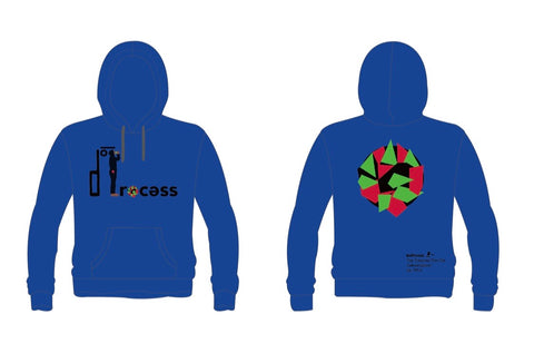 """Walking While Black"" Hoodie-Blue"
