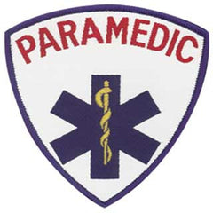 Embroidered Paramedic Badge