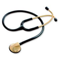 Hi-Care Professional Single Head Gold Finish Stethoscope