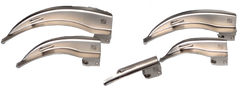 5 Blade Laryngoscope Set – Fibre Optic