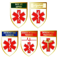 Qualification Badges (Tear Drop Style)