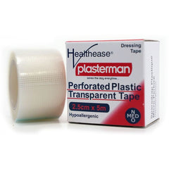 Perforated Plastic Transparent Tape 25mm x 5m