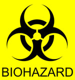 Bio-Hazard Sticker
