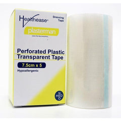 Perforated Plastic Transparent Tape 75mm x 5m