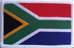 Embroidered South African Flag Patch