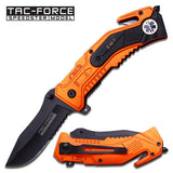 "Tac-Force TF-688EMT 4.5"" Folding Rescue Knife"