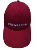 Fire Marshal Peak Cap