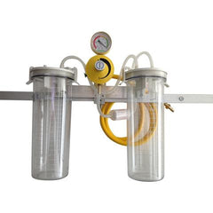 Rail Mount Suction Unit - Double Bottle