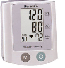 Rossmax Digital Wrist Type Blood Pressure Meter - Fully Automatic