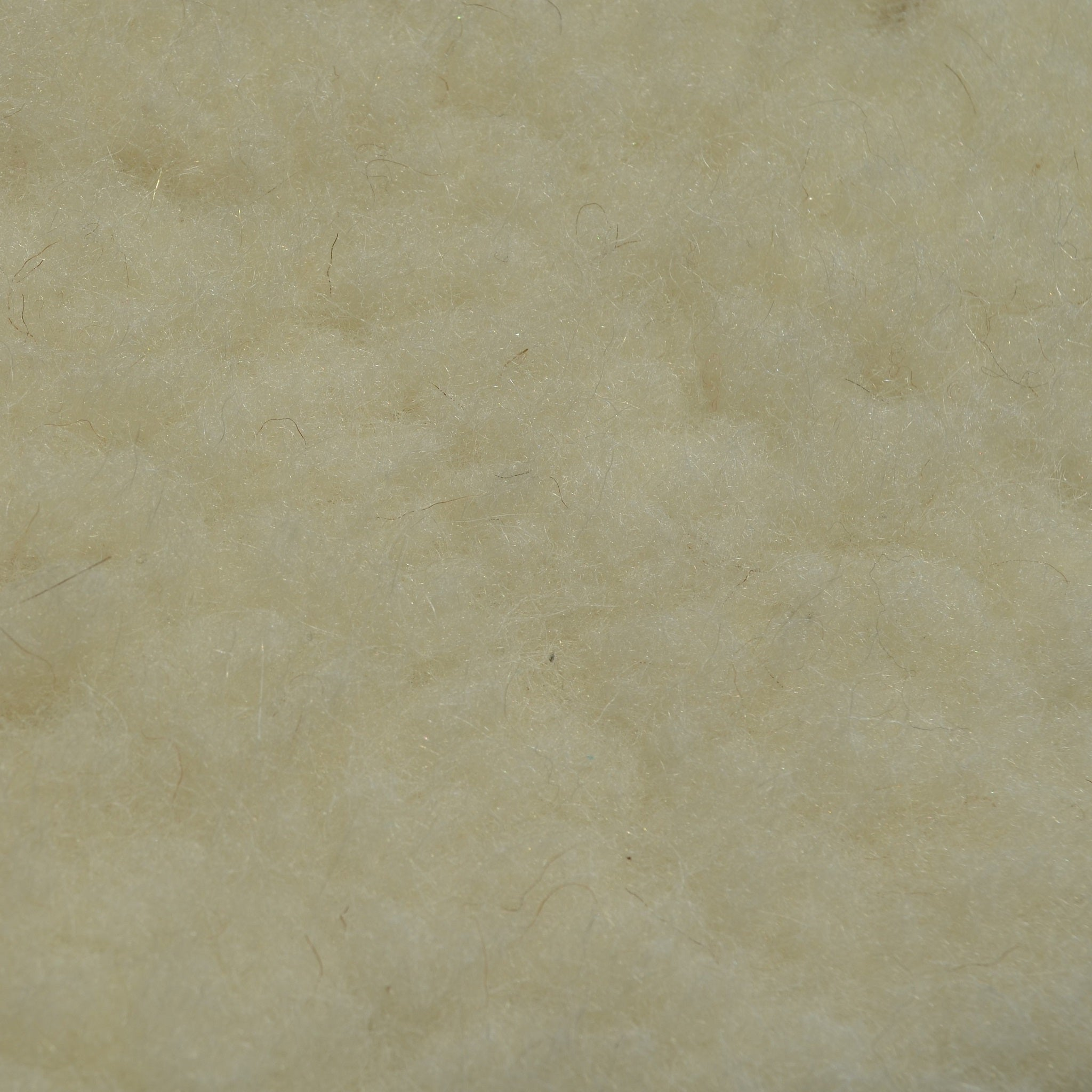 Woolly Cream waterproof fabric for dog beds