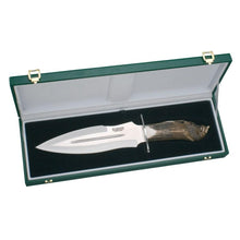 "Load image into Gallery viewer, Facochero Spectacular 10-1/2"" Hunting Knife - Stag Horn Handle - Collector's Edition"