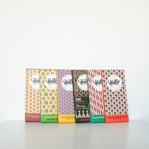 Kaitxo basque chocolate bars/ Chocolates Kaitxo