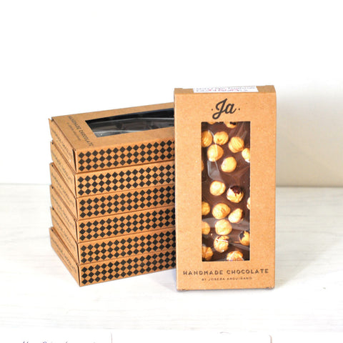 JA Milk Chocolate with Hazelnuts / Chocolate con Leche y Avellanas