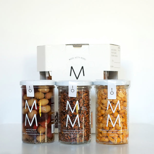 MM Spanish artisan food gift box Snacks & Picoteo