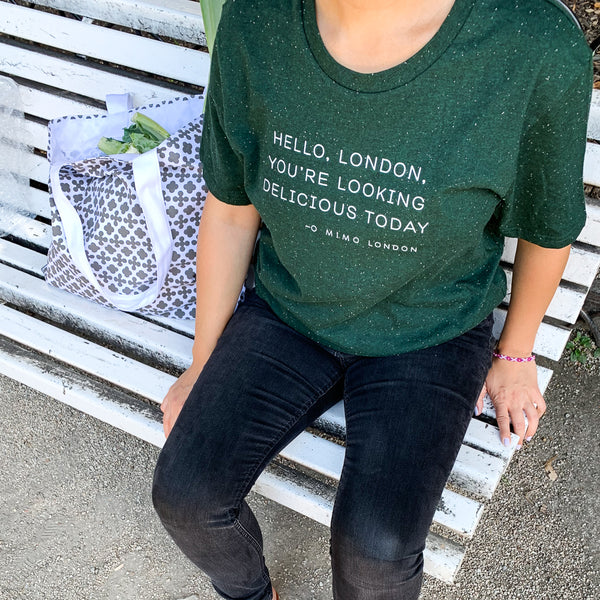 "Mimo London ""You´re Looking Delicious* T-shirt"