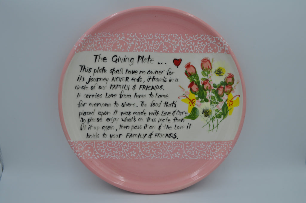 The Giving Plate - Cake Plate