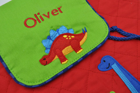 Quilted Backpack Dino