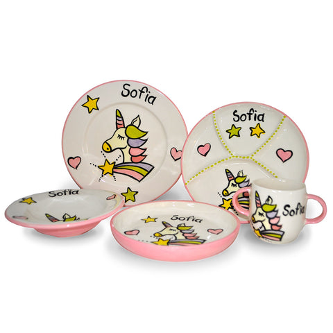 5 Piece Mixed Dinner Set