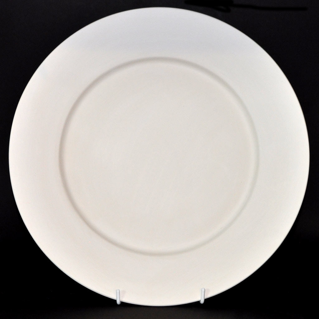 Large Round Dinner Plate