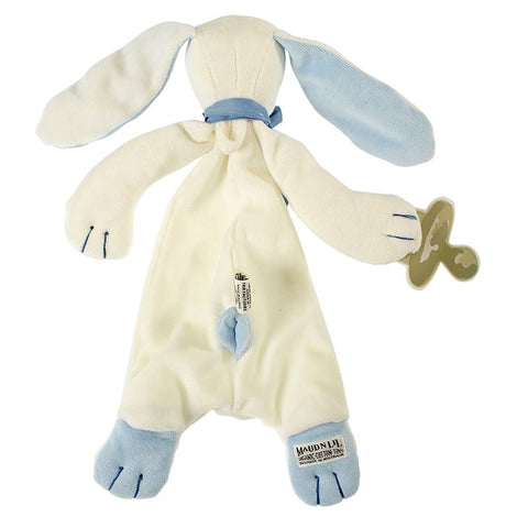 Baby Comforter Blue Rabbit