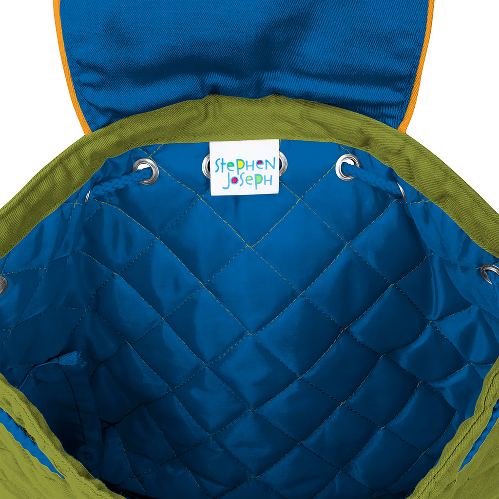 Quilted Backpack Construction