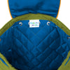 Image of Quilted Backpack Construction