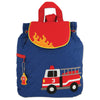 Image of Quilted Backpack Fire Truck