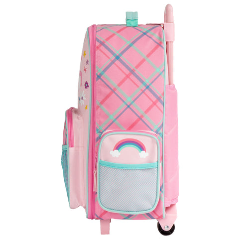 Rolling Luggage Pink Unicorn