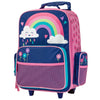 Image of Rolling Luggage Rainbow