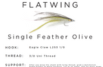 Flatwing Kit - Single Feather Olive