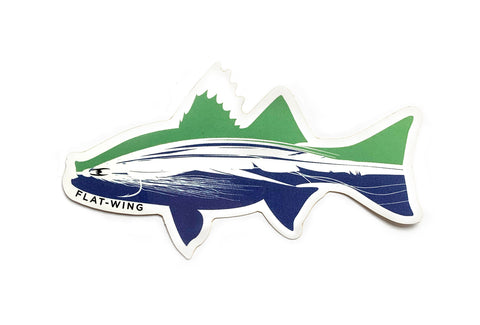 FlyFish Flatwing Sticker