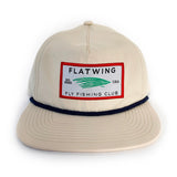 Flatwing Club Rope Snapback - Sand
