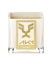 AK1 Candle Sugar White