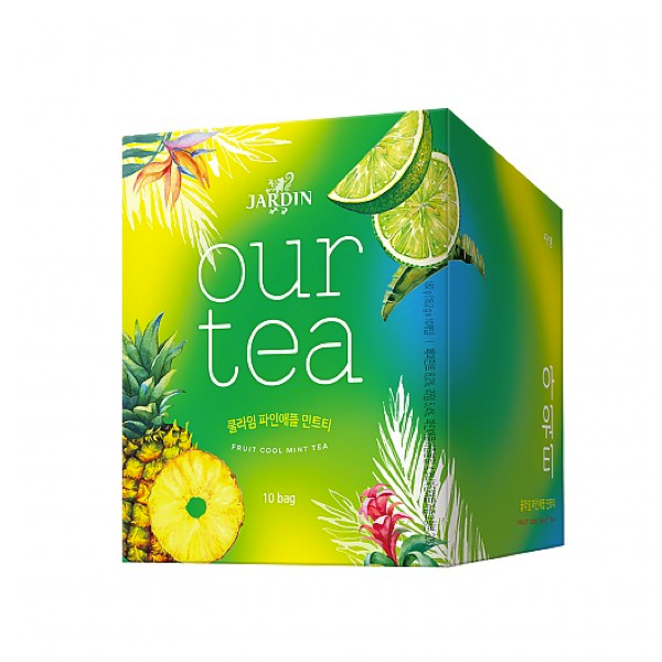 [쟈뎅]아워티 Cool Lime Pineapple Mint Tea(4pcs)
